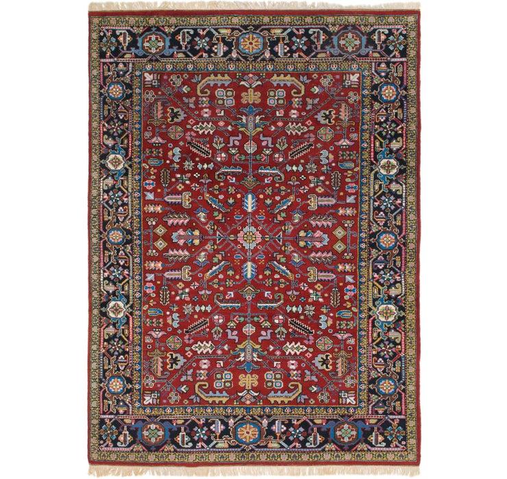 257cm x 353cm Heriz Persian Rug