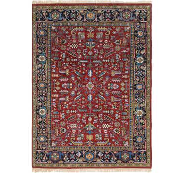 8' 5 x 11' 7 Heriz Persian Rug