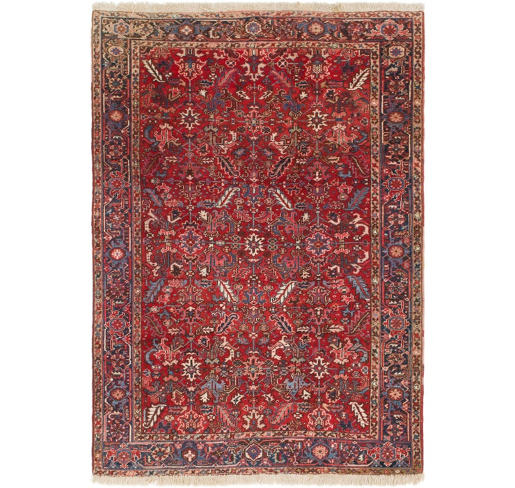 230cm x 318cm Heriz Persian Rug