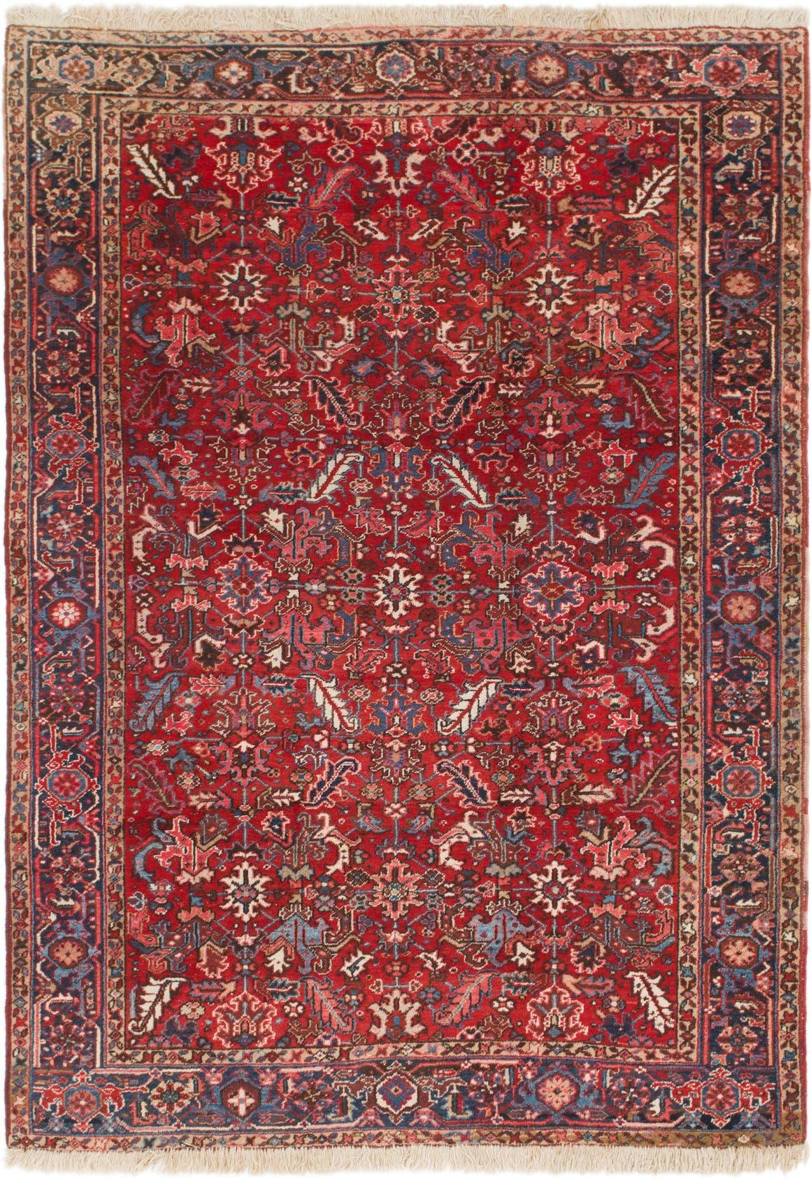 7' 7 x 10' 5 Heriz Persian Rug main image