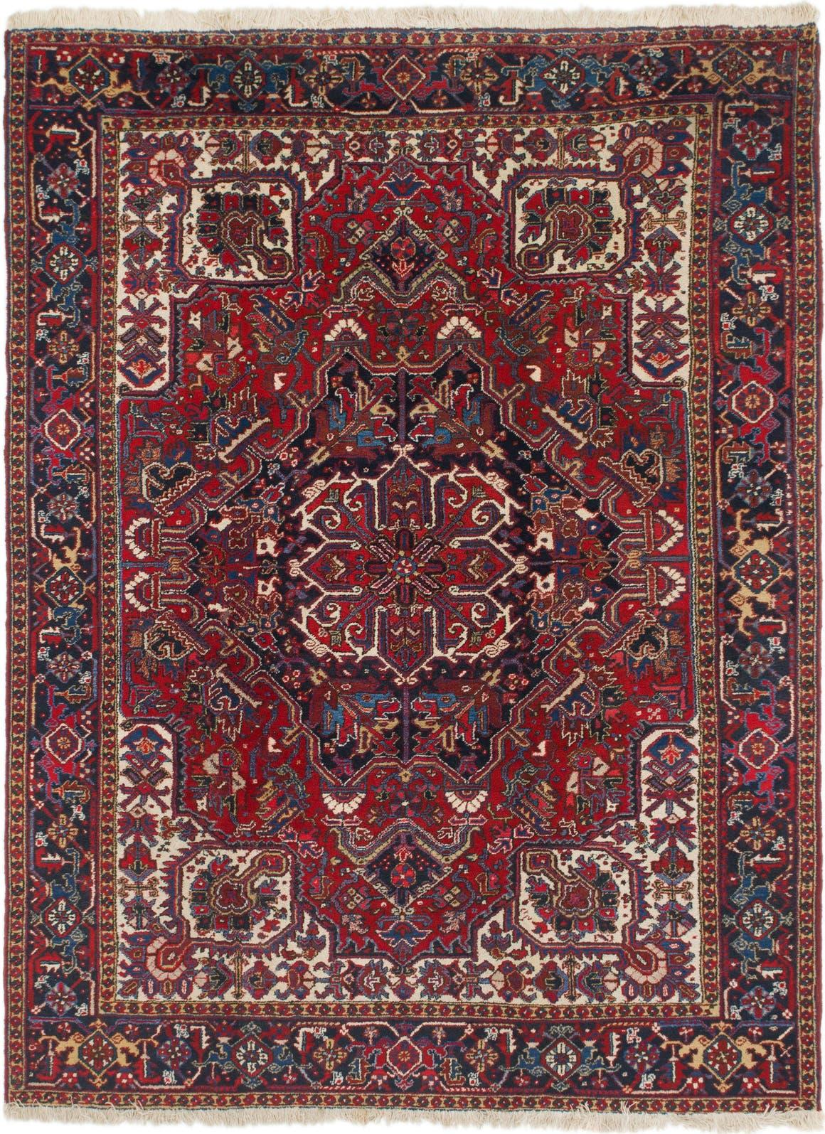 7' 10 x 10' 4 Heriz Persian Rug main image