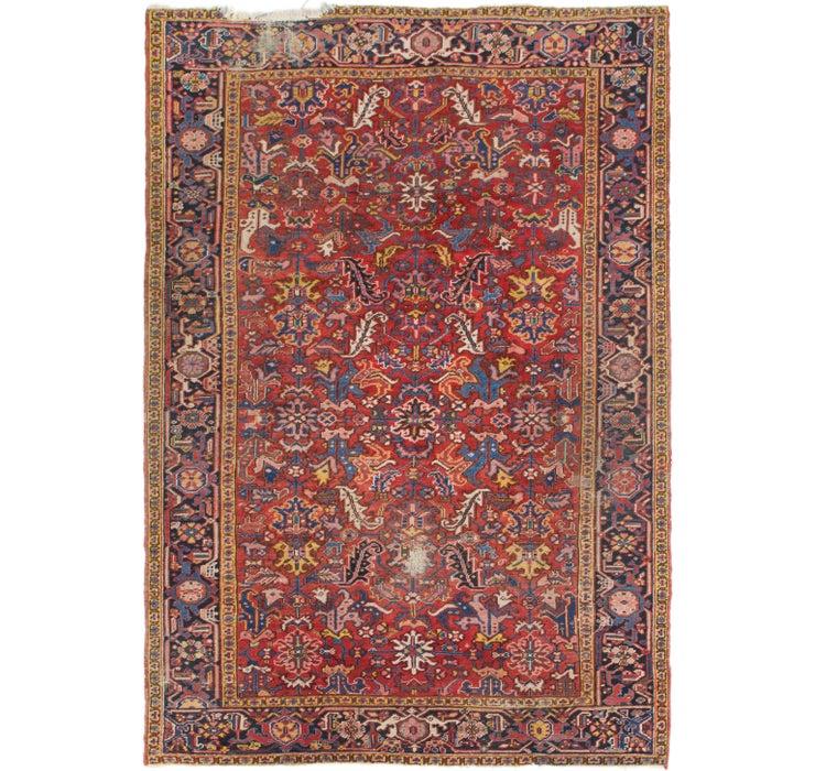 208cm x 305cm Heriz Persian Rug