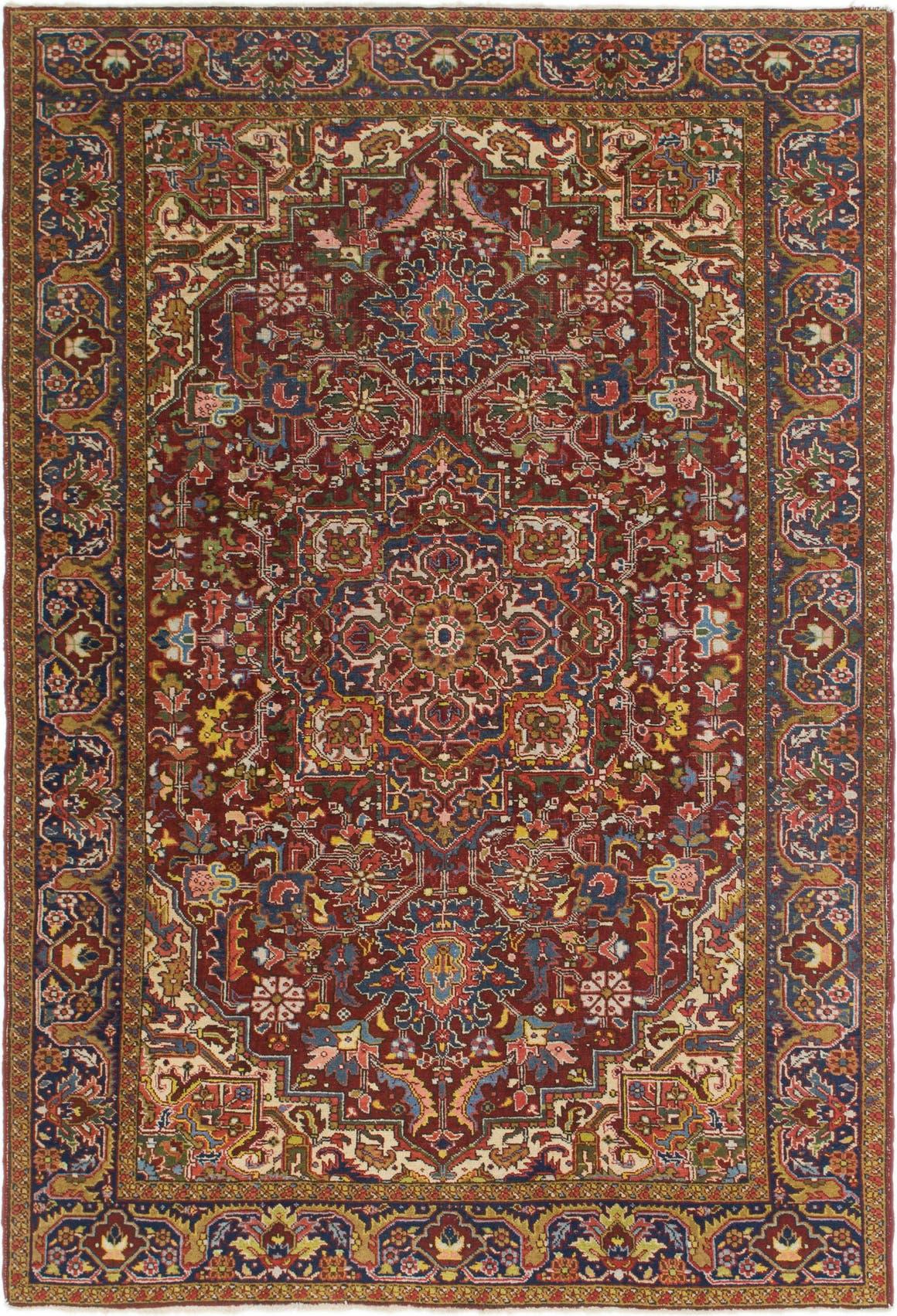 6' 9 x 10' 3 Heriz Persian Rug main image