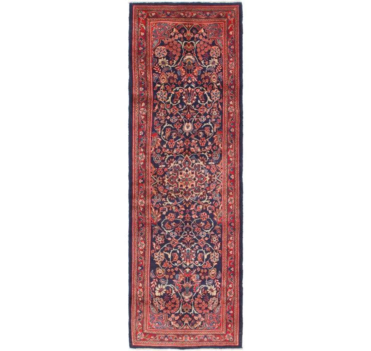 107cm x 340cm Mahal Persian Runner Rug