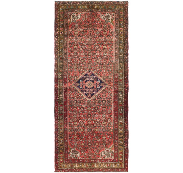 117cm x 275cm Hossainabad Persian Run...