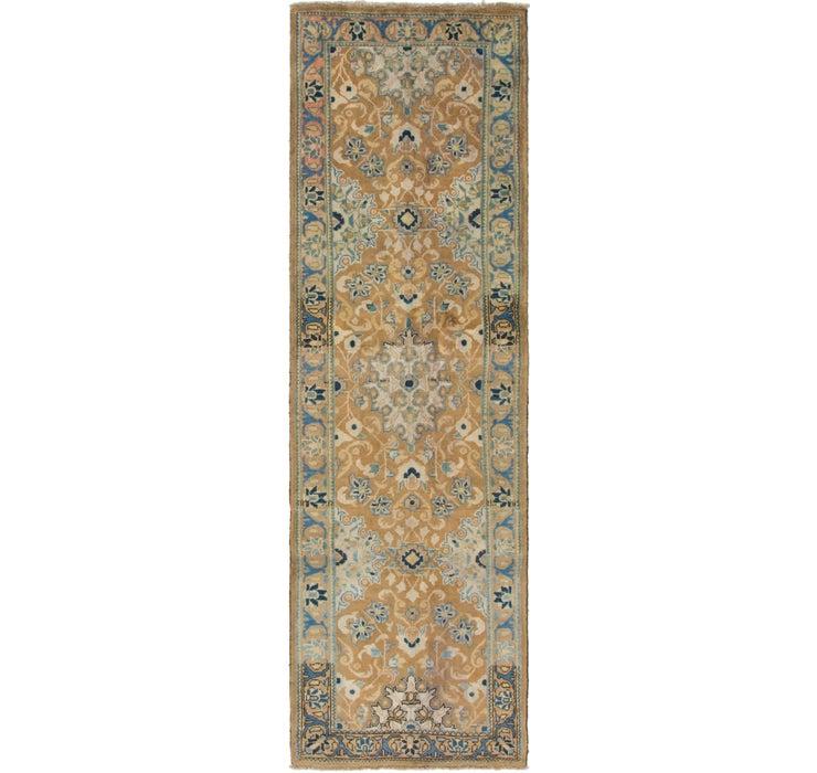 3' 2 x 10' 5 Mahal Persian Runner Rug