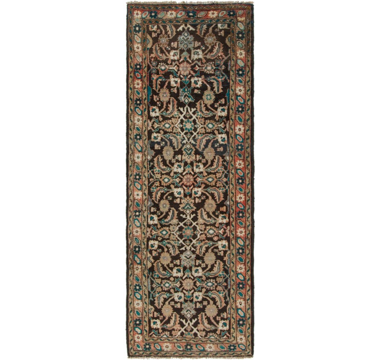 107cm x 310cm Mahal Persian Runner Rug