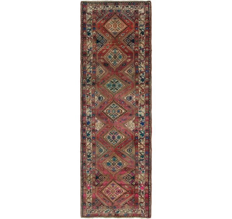110cm x 353cm Chenar Persian Runner Rug