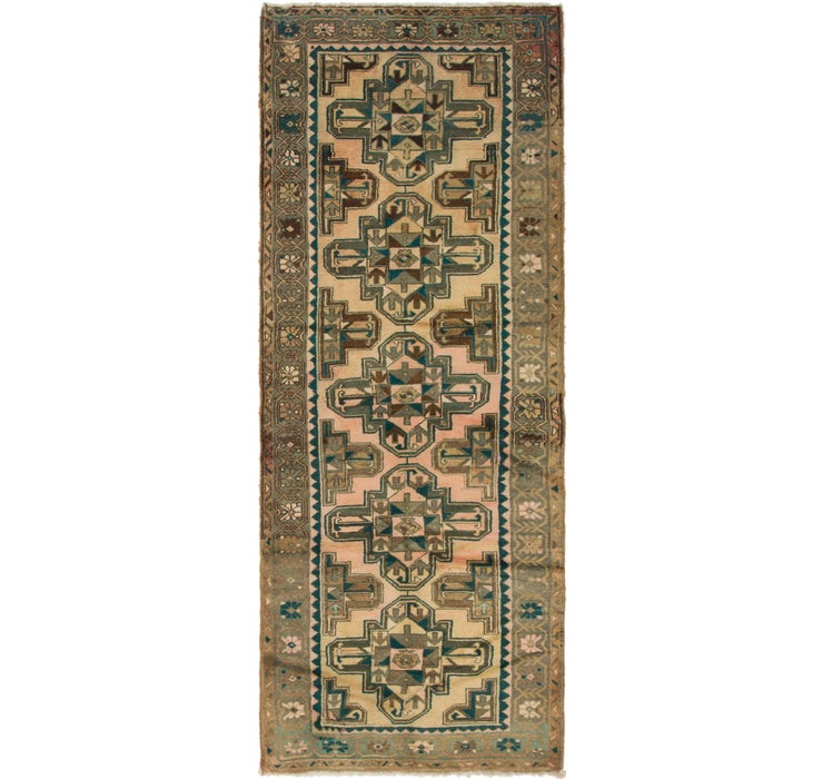 112cm x 300cm Saveh Persian Runner Rug