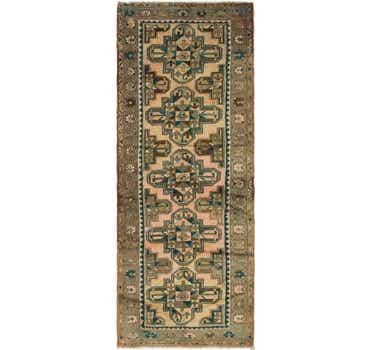 Image of 3' 8 x 9' 10 Saveh Persian Runner Rug