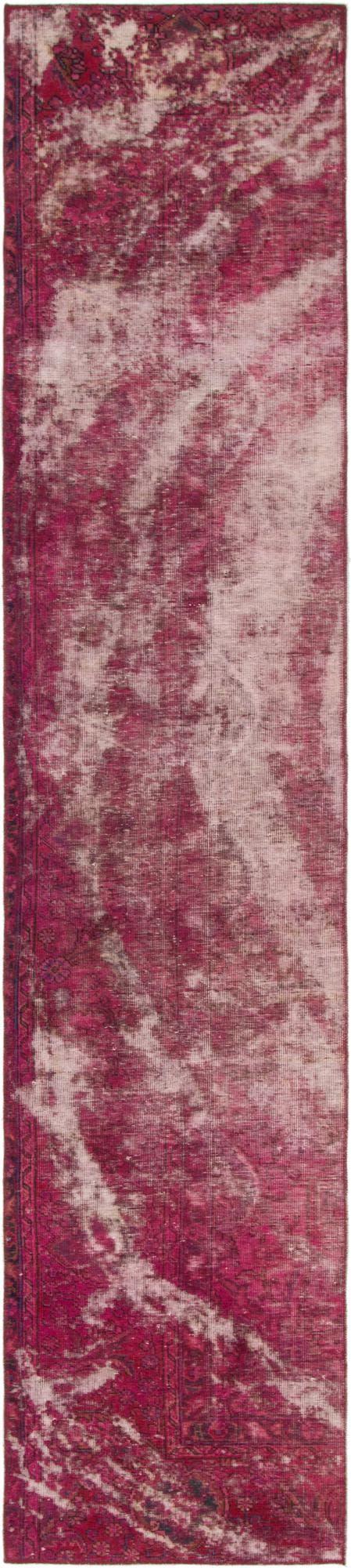 2' 5 x 11' 10 Ultra Vintage Persian Runner Rug main image