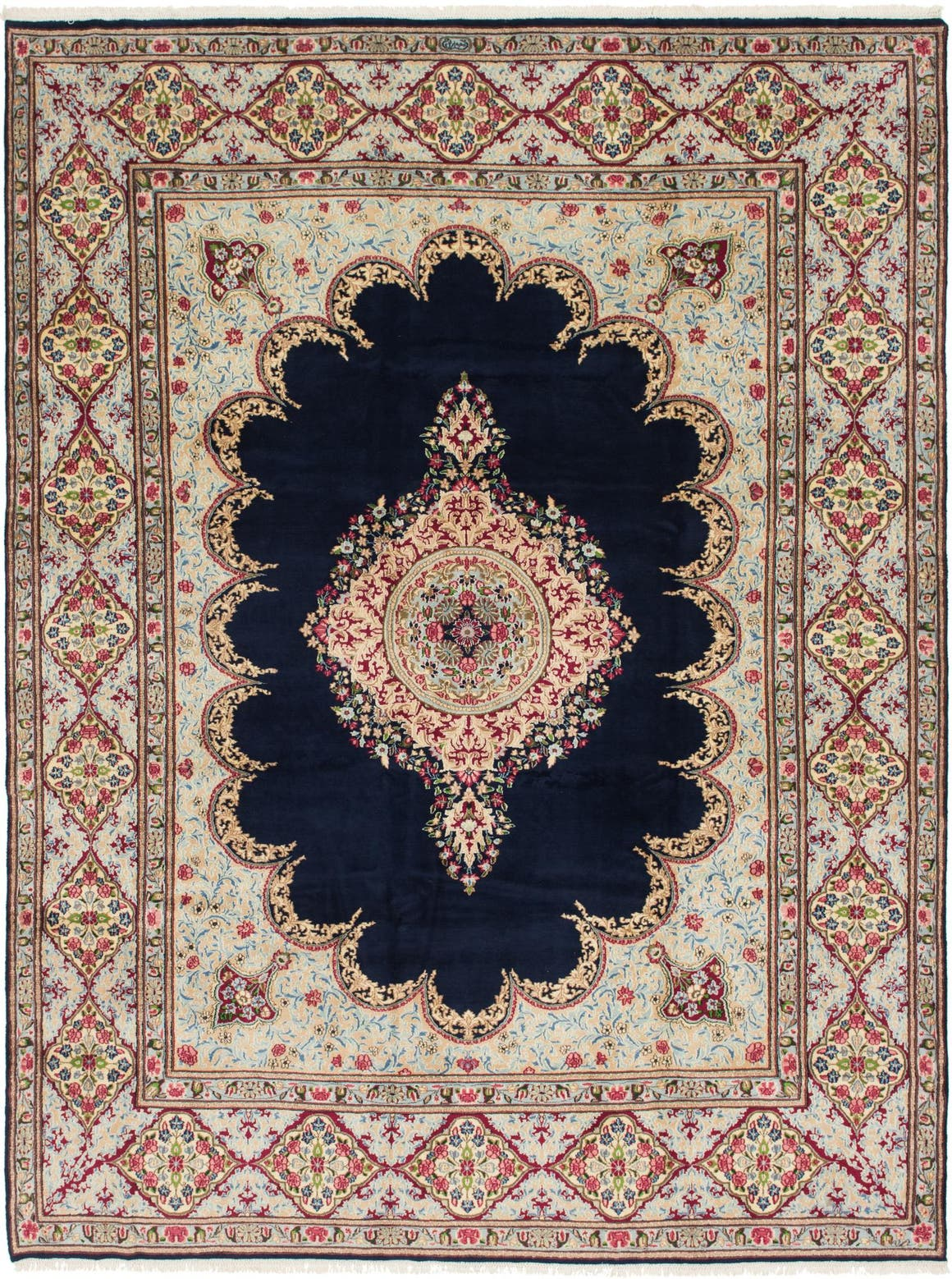9' 7 x 12' 10 Kerman Persian Rug main image