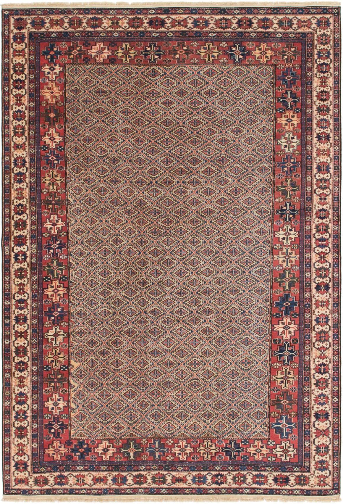 6' 6 x 9' 9 Shirvan Persian Rug main image