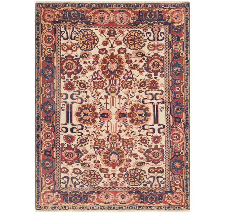 6' 3 x 8' 7 Shirvan Persian Rug