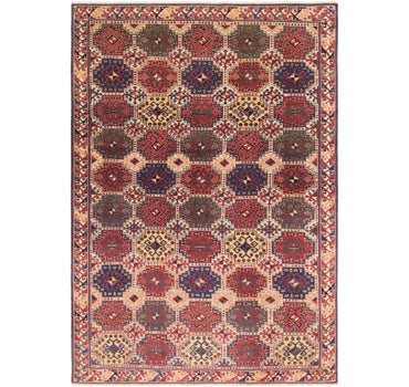 6' 5 x 9' 7 Shirvan Persian Rug main image