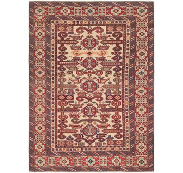 4' 6 x 6' 3 Shirvan Persian Rug main image
