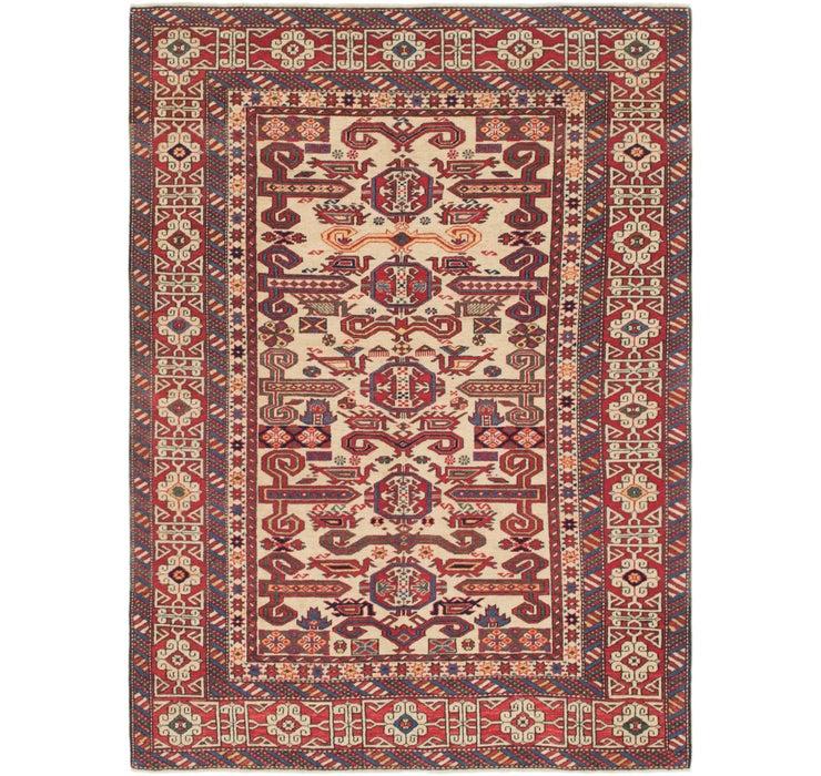 Image of 4' 6 x 6' 3 Shirvan Persian Rug