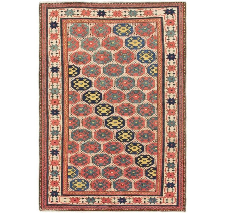 Image of 3' 9 x 5' 5 Shirvan Persian Rug