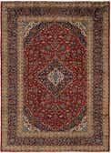 9' 5 x 12' 10 Kashan Persian Rug thumbnail