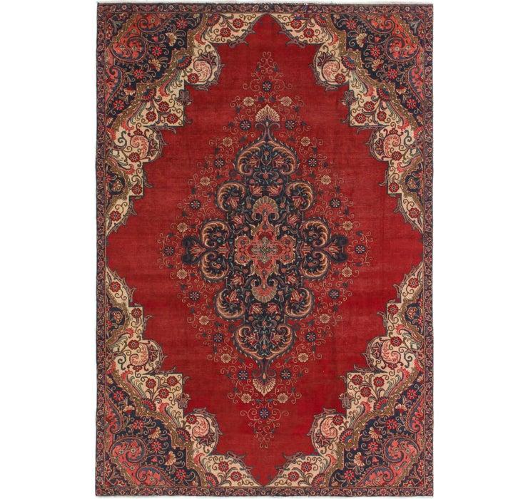 7' 3 x 10' 9 Tabriz Persian Rug