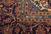 9' 8 x 14' Kashan Persian Rug thumbnail
