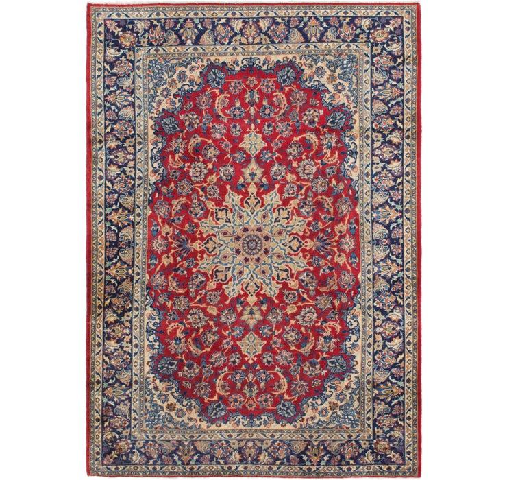 8' x 11' 5 Isfahan Persian Rug