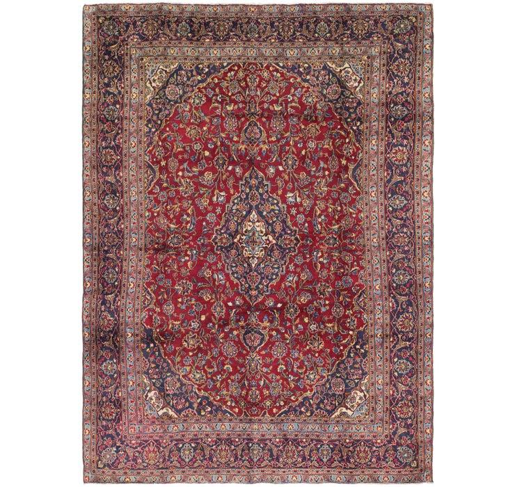 270cm x 375cm Kashan Persian Rug