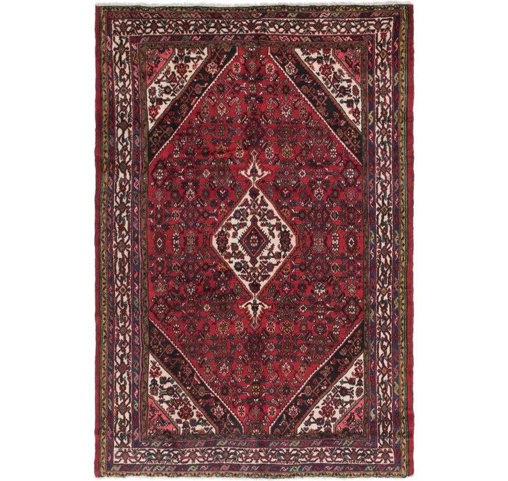 213cm x 312cm Hamedan Persian Rug