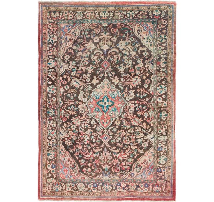 7' 8 x 11' 2 Mahal Persian Rug