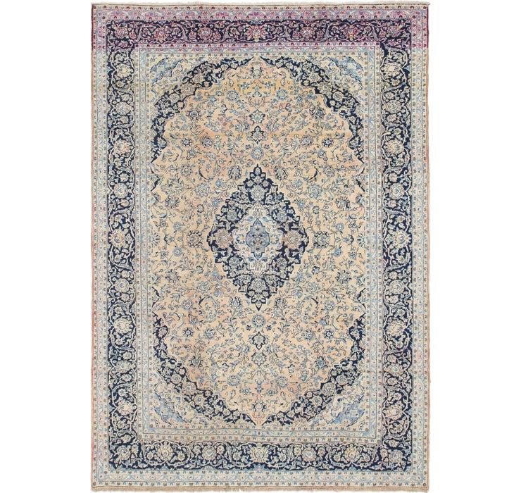 9' 9 x 13' 10 Kashan Persian Rug