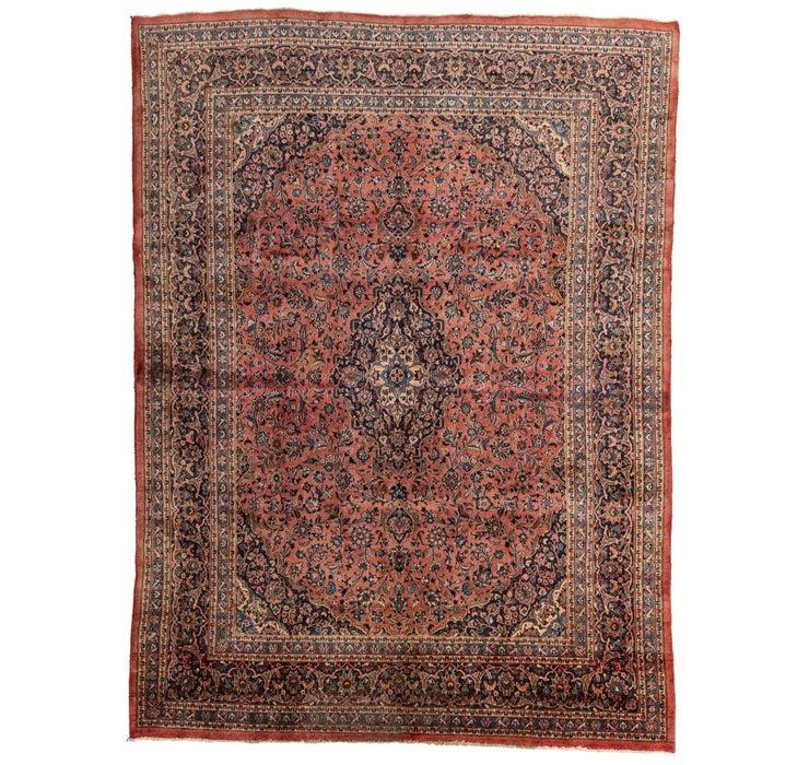 9' 6 x 12' 7 Mashad Persian Rug