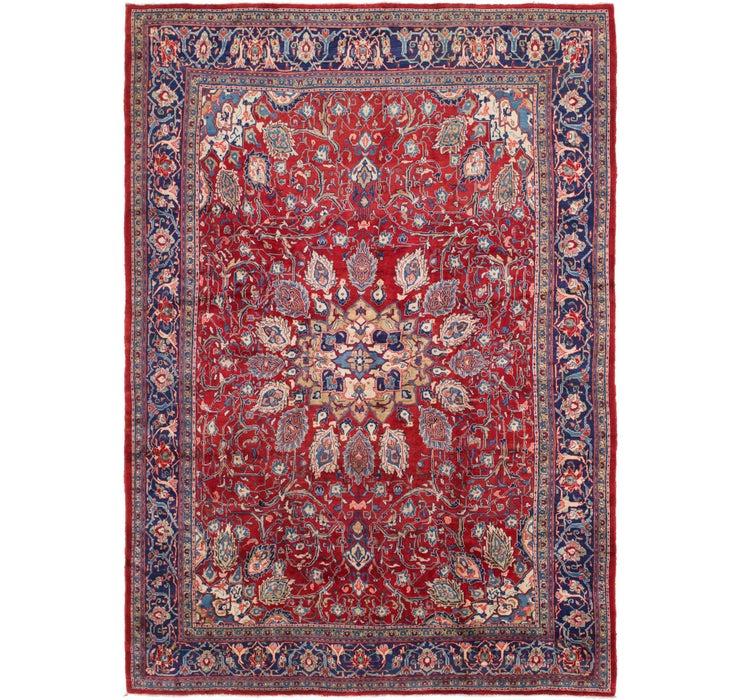 290cm x 420cm Mahal Persian Rug