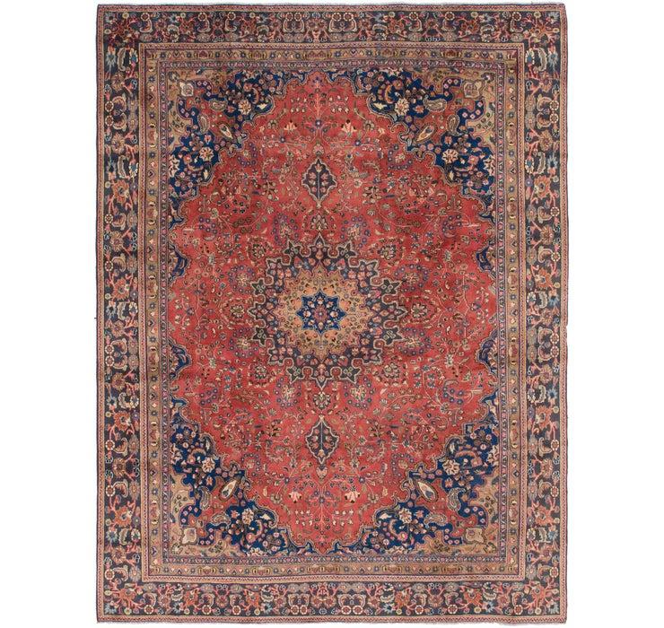 8' 8 x 11' 5 Mashad Persian Rug