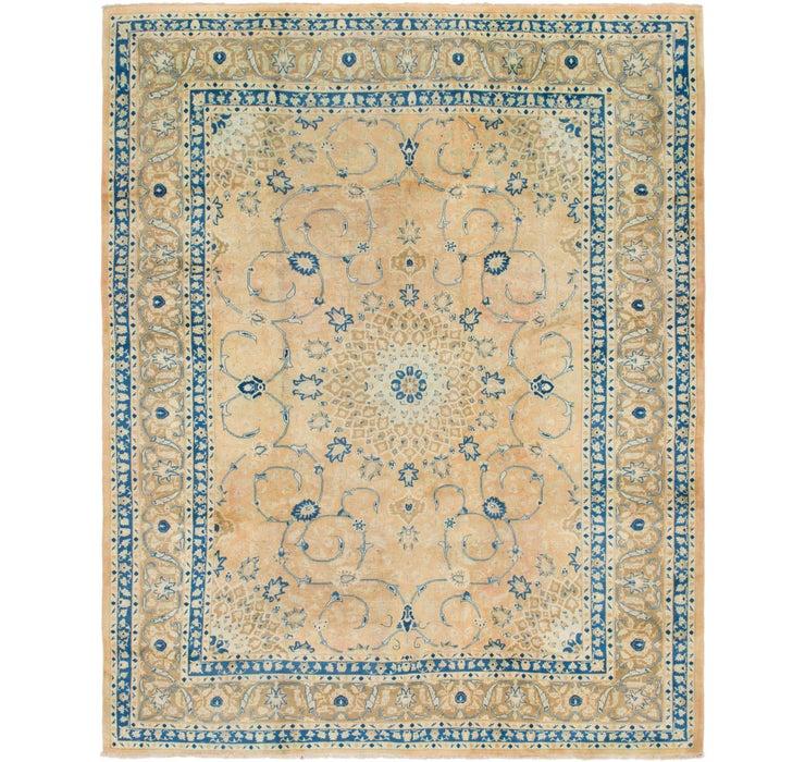 305cm x 348cm Mashad Persian Square Rug