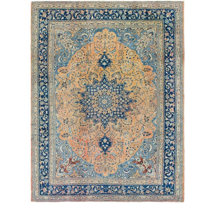 295cm x 390cm Mahal Persian Rug