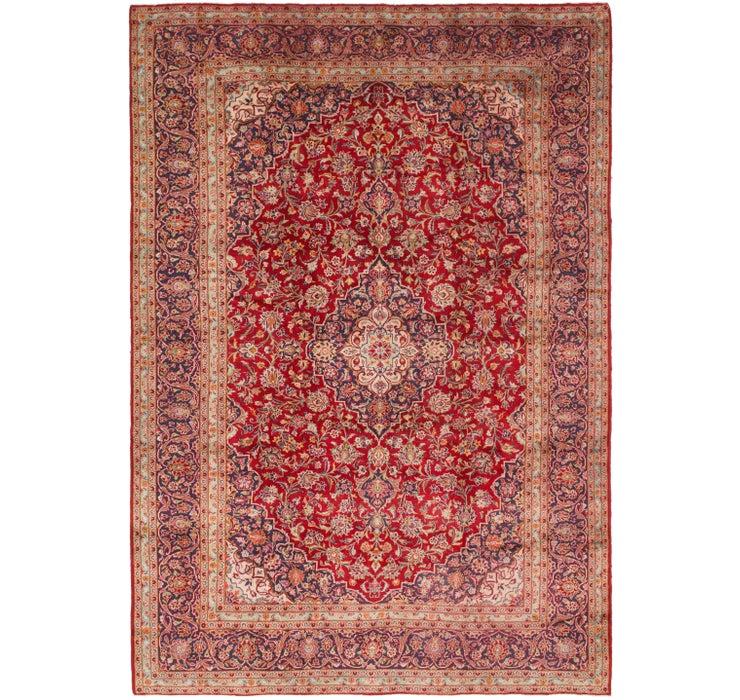 292cm x 432cm Kashan Persian Rug