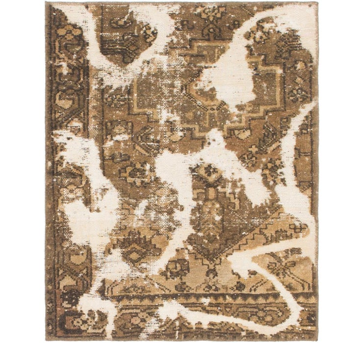 2' 8 x 3' 4 Ultra Vintage Persian Rug