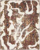 4' x 5' Ultra Vintage Persian Square Rug thumbnail