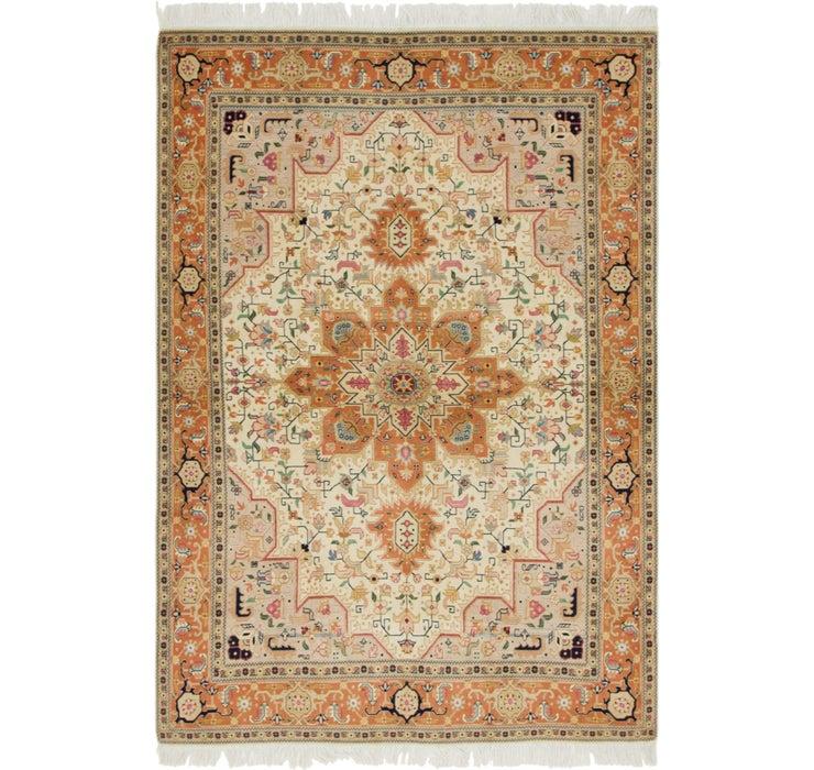 4' 10 x 7' Tabriz Persian Rug