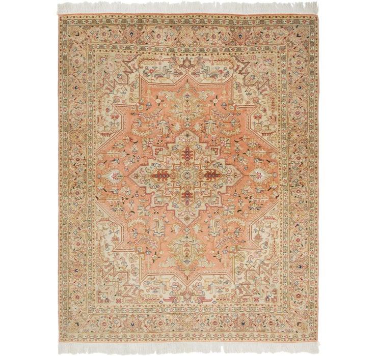 5' 1 x 6' 7 Tabriz Persian Rug