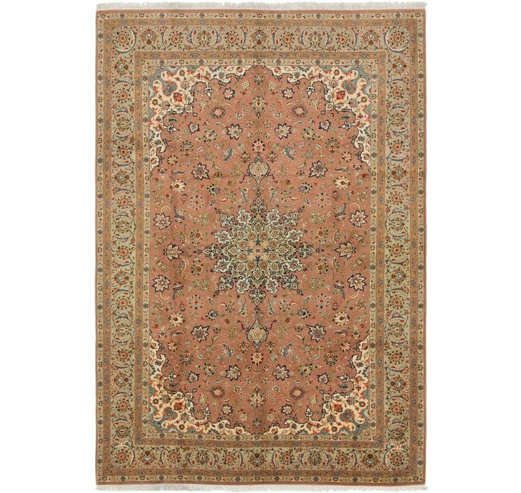 6' 8 x 9' 8 Isfahan Persian Rug