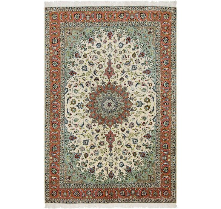 195cm x 295cm Isfahan Persian Rug