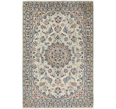 Image of 3' 8 x 5' 6 Nain Persian Rug