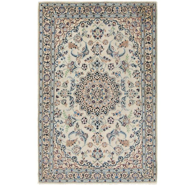 3' 8 x 5' 6 Nain Persian Rug