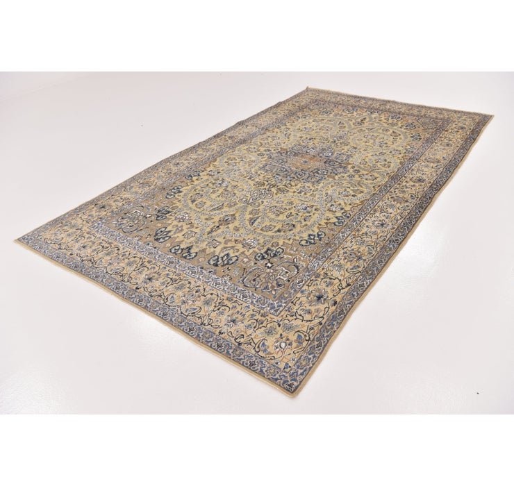 6' x 10' 3 Nain Persian Rug