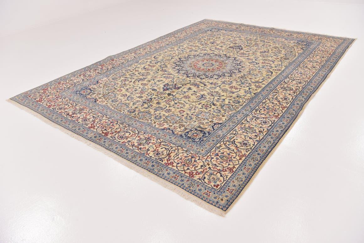 7' 10 x 11' 3 Nain Persian Rug main image