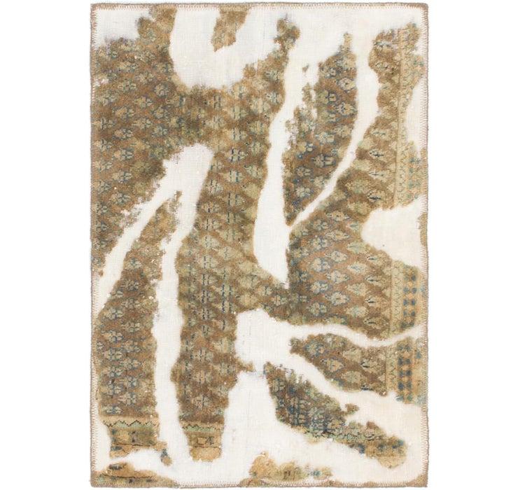 70cm x 102cm Ultra Vintage Persian Rug