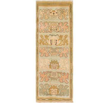 Image of 2' 10 x 8' Oushak Runner Rug