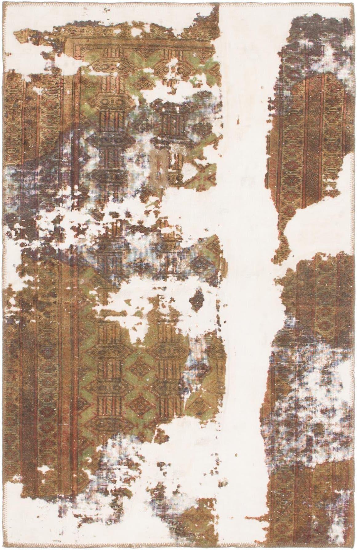 3' 4 x 5' 3 Ultra Vintage Persian Rug main image
