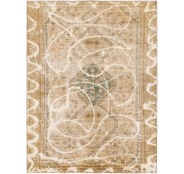 4' 6 x 6' 2 Ultra Vintage Persian Rug main image